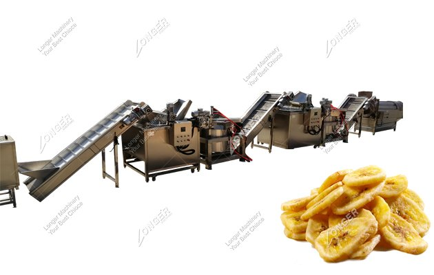 banana making machin